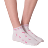 Women's Think Pink Ankle Socks