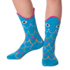 Kid's Wide Mouth Fish Crew Socks