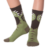 Kid's T-Rex Crew Socks