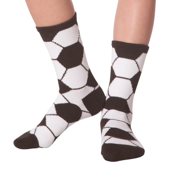 Kid's Soccer Ball Crew Socks