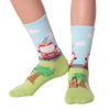 Kid's Fireman Crew Socks
