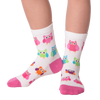 Kid's Colorful Owls Crew Socks
