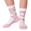 Kid's Ballet Slipper Crew Socks