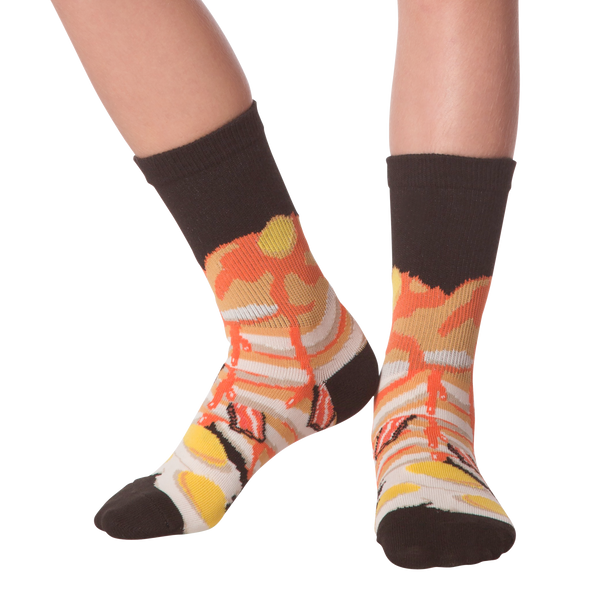 Kid's Breakfast Crew Socks