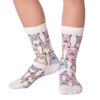 Kid's Smarty Cats Crew Socks