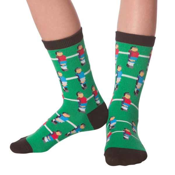 Kid's Foosball Crew Socks