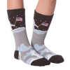Kid's Man On The Moon Crew Socks - American Made