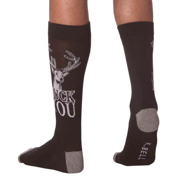 Men's Buck You Crew Socks