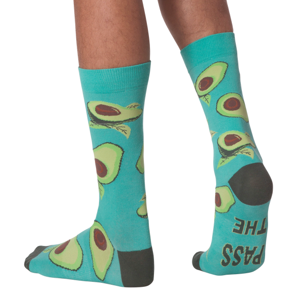 Men's Avocados Crew Socks