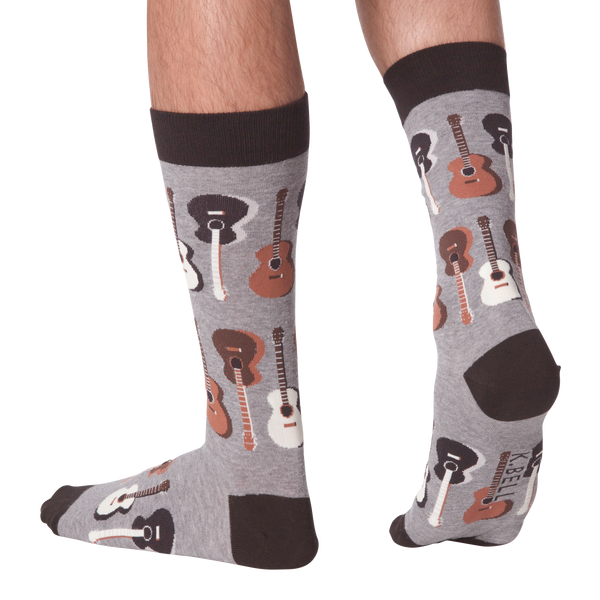 Men's Guitar Crew Socks