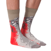 Men's Piranha Crew Socks