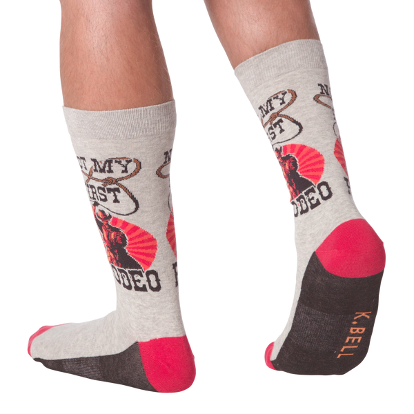 Men's Not My First Rodeo Crew Socks