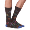 Men's Bright Bikes Crew Socks