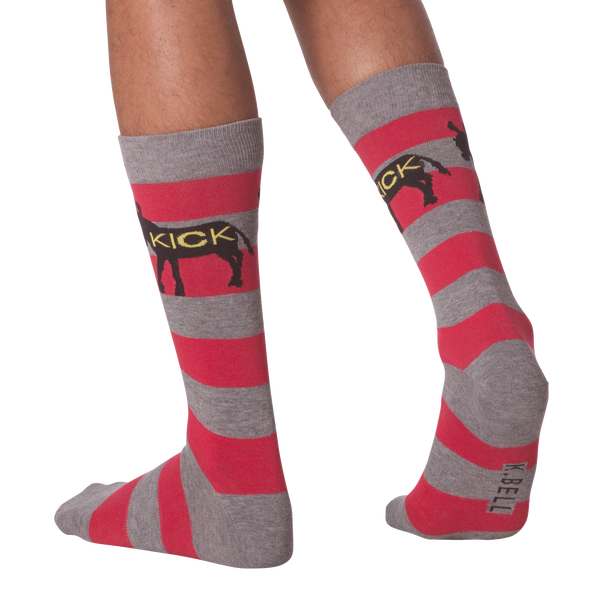 Men's Kick Ass Crew Socks