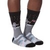 Men's Man On the Moon Crew Socks - American Made
