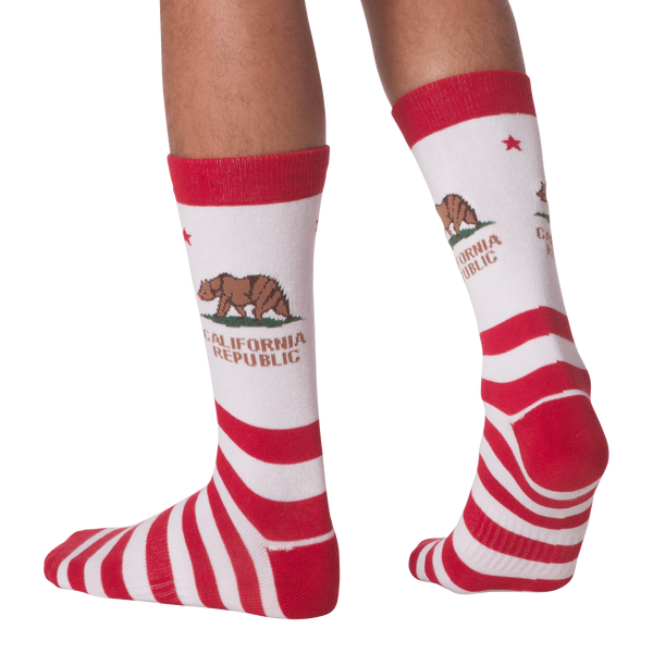 Men's CA Republic Crew Socks - American Made