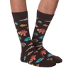 Men's Exotic Fish Crew Socks