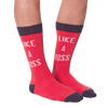 Men's Like A Boss Crew Socks