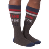Men's Land of the Free Crew Socks -  American Made