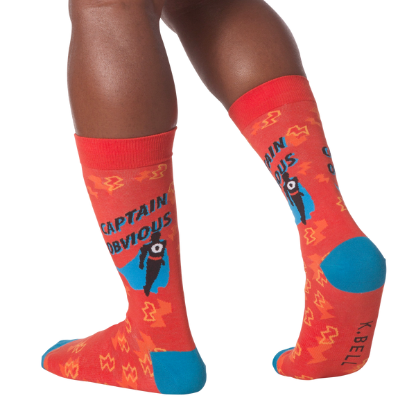 Men's Captain Obvious Crew Socks