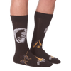Men's Tex-Rex Ride Crew Socks
