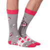 Men's Dining Out Crew Socks