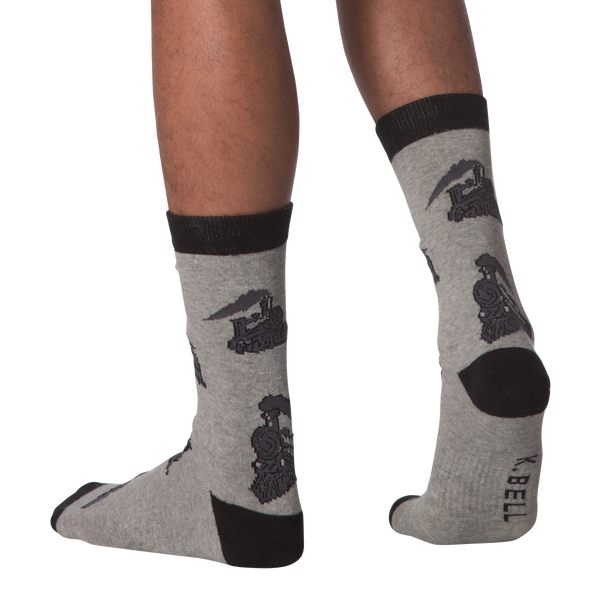 Men's Train Crew Socks - American Made