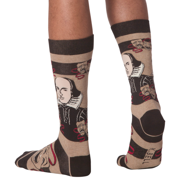 Men's Shakespeare Crew Socks