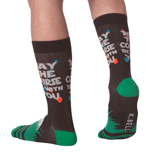 Men's May the Course Crew Socks