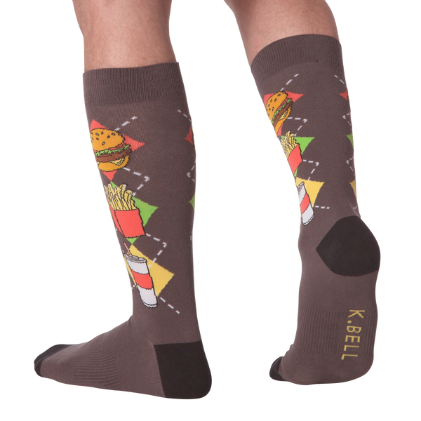 Men's Junk Food Crew Socks