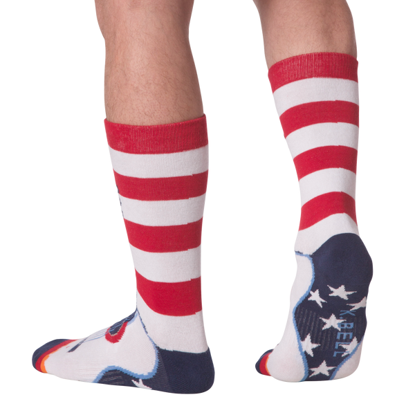 Men's USA Guitar Crew Socks - American Made