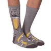 Men's Take A Pitcher Crew Socks