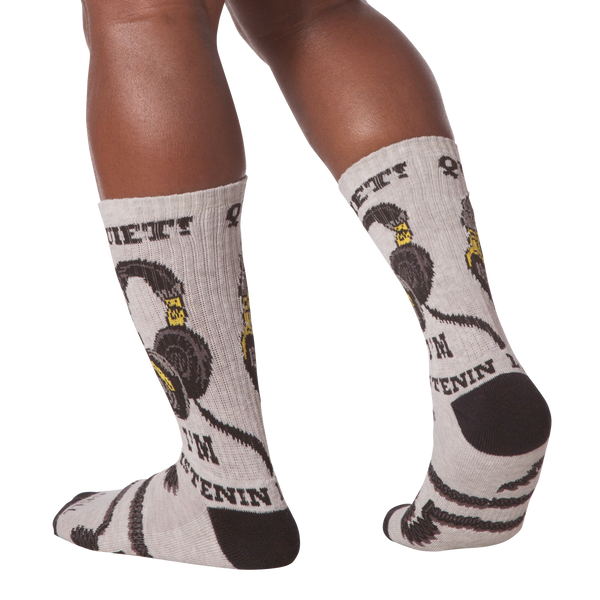 Men's Quiet Crew Socks