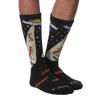 Men's Bacon Abduction Crew Socks