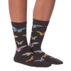 Women's Colorful Butterflies Crew  Socks