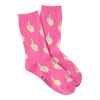 Women's Middle Finger Crew Socks