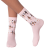 Women's Cat Tails Crew Socks
