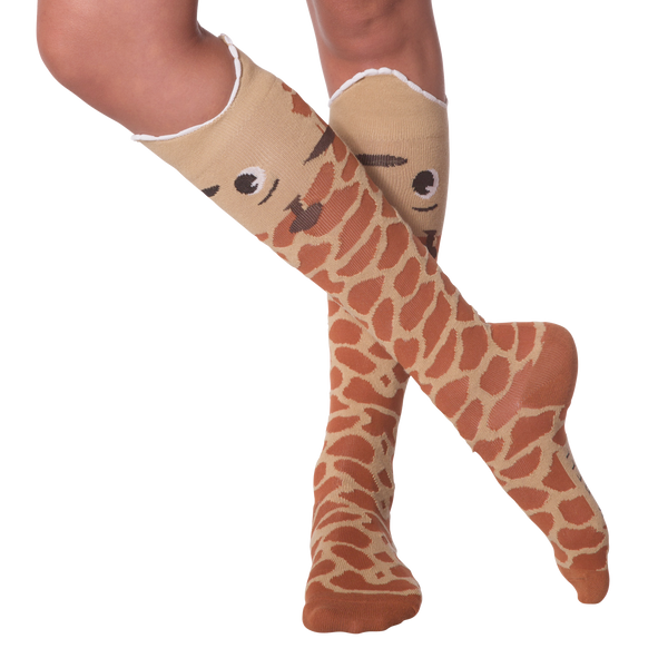 Women's Wide Mouth Giraffe Knee High