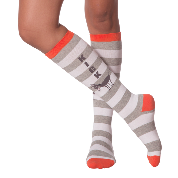Women's Kick Ass Knee High Socks