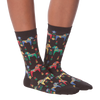 Women's Swedish Horses Crew Socks