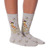 Women's Queen Bee Crew Socks
