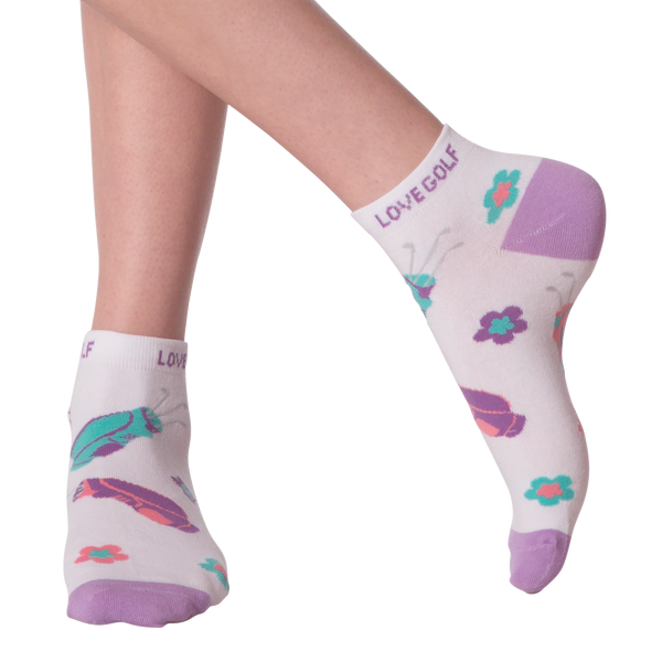 Women's I Love Golf Ankle Socks