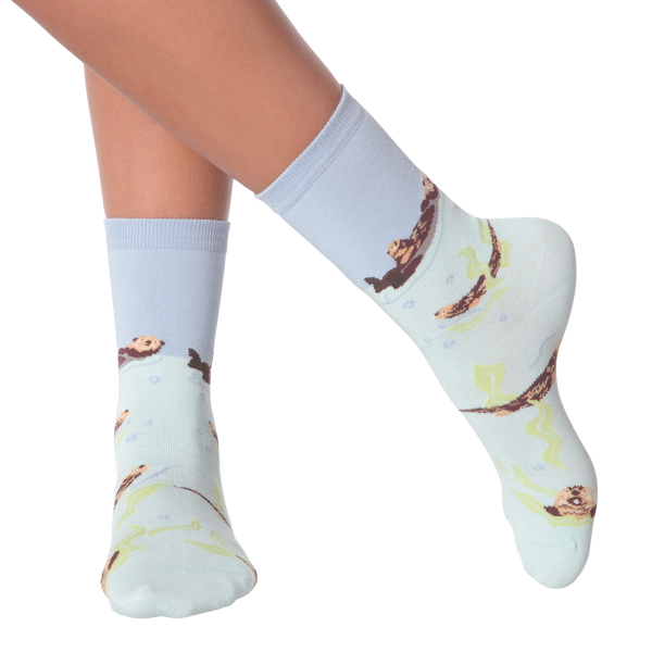 Women's Otters Crew Socks