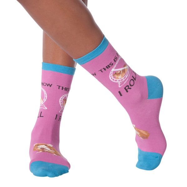 Women's Hamster Wheel Crew Socks