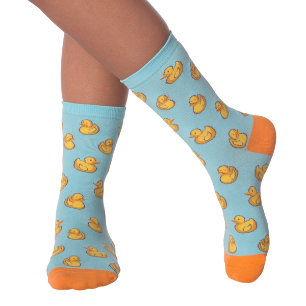 Women's Rubber Ducks Crew Socks
