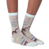 Women's Adopt Don't Shop Crew Socks