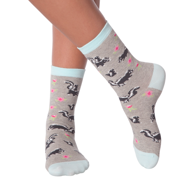 Women's Skunks Crew Socks