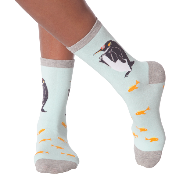 Women's Penguin Crew Socks