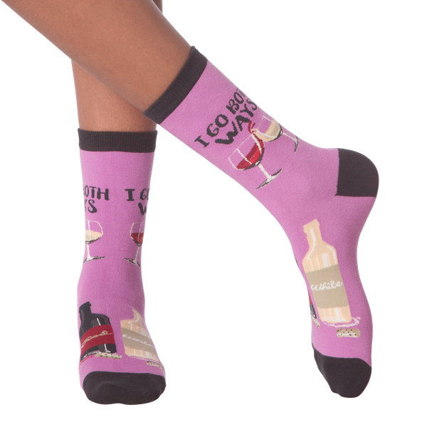 Women's I Go Both Ways Crew Socks