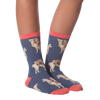 Women's Sloths Riding Llamas Crew Socks